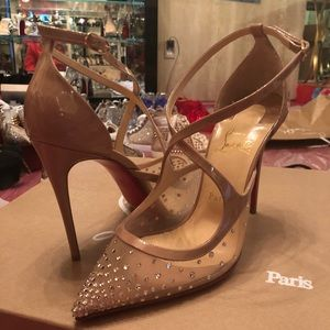 57aa1ddc8b06 Christian Louboutin Shoes - Christian Louboutin twistissima Strass new 37.5
